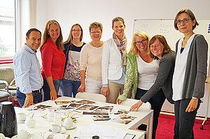 Gruppenfoto des Mehrgenerationenhaus Burgdorf