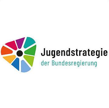 Das Logo der Bundesjugendstrategie.