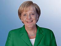 Ein Porträtfoto von Dr. Angela Merkel, Bundeskanzlerin