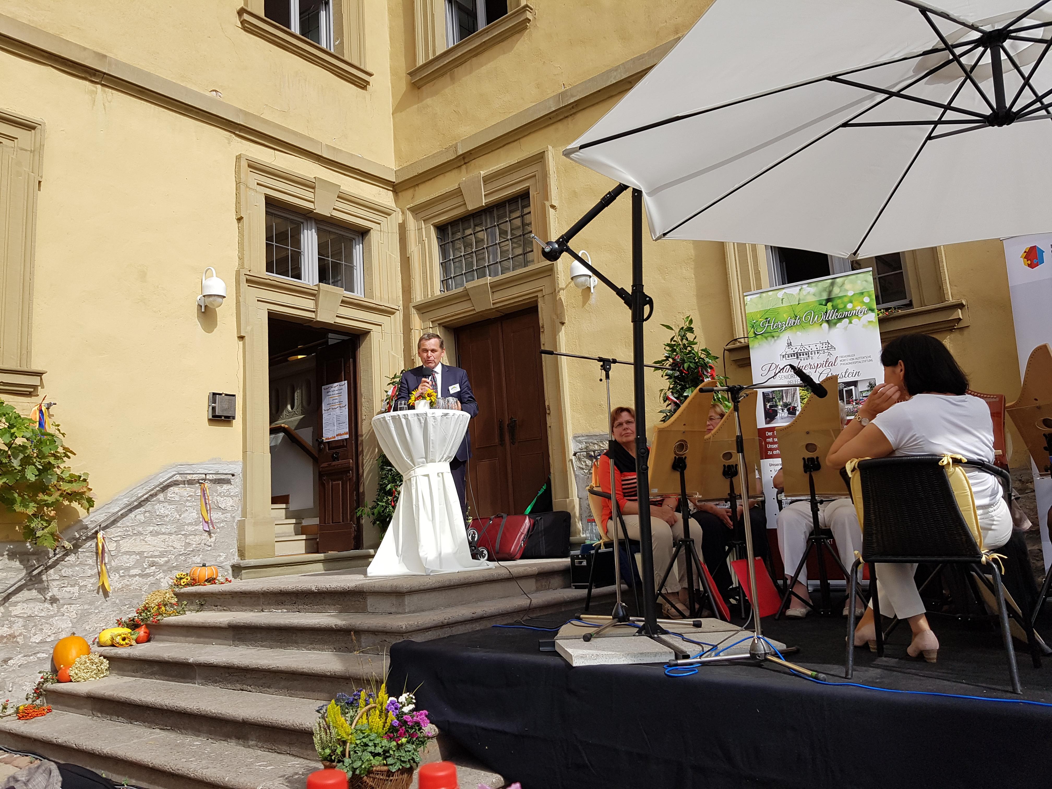Ansprache 1.BGM Stadt Arnstein