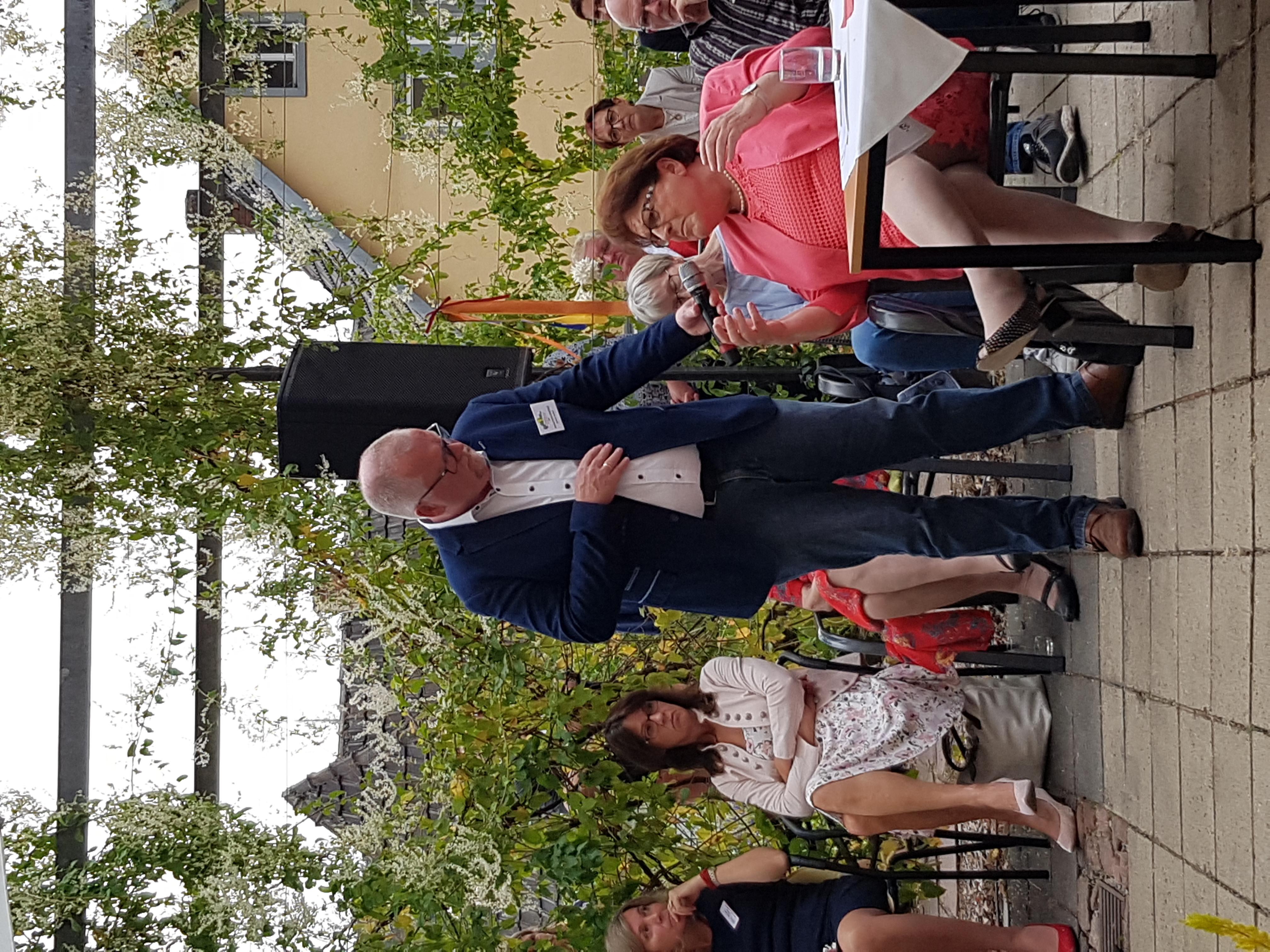 Interview von Hr. Schellenberger mit Fr. Stamm
