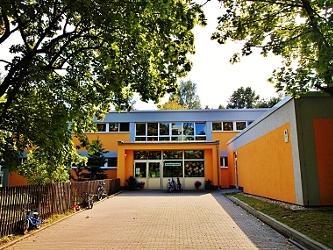 Eingang des Kinder- und Familienzentrums Kappelino